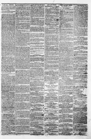 "LOCAL NEWS. 1^7"" TLoi^li Tmk Stab U printed on the fwtmt itnn pros* In uae with of Baltimore, lta edition li ao large to..."