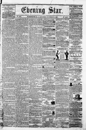 """f 0 m ... ^ '""""* <&bmn% ?ta.r. ' ?. ?-. : ... . r ; , , I M . ! - I . V^i. XVI. WASHINGTON. D. C.. SATURDAY. OCTOBER 27. 1868."""