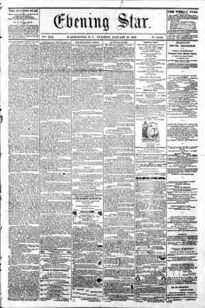 7 # -- _ # X I M jR I B _ # ^, jj ~ I H^H ^ _^k ^ .*< W _ ~ A A ^ % V?. XIX. WASHINGTON, D C . TUESDAY, JANUARY 21, 1862. N?.
