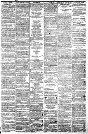 "LOCAL NEWS. I ivcimin To-Ni?ht. Tkkatks.?John E Owe* ? ""Caleb PlumTTver"" In the great drama founded oa Dickens' 'Cricket on"