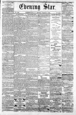 """;^r ^ f firming Star. r ' V^. XIX. WASHINGTON, D. C., MONDAY, MARCH 31, 1802. N-. 2,841. i ????^?m? ?^ I """""""" I Tur n EiNliNG"""