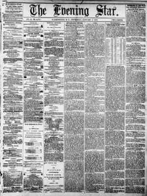 V??. 41-N2. 6.175 WASHINGTON, D. C., THURSDAY. JANUARY 2. 1873. TWO CENTS. flf EVENING STAR. (4 *?lly, luiiji elttfld, r THE