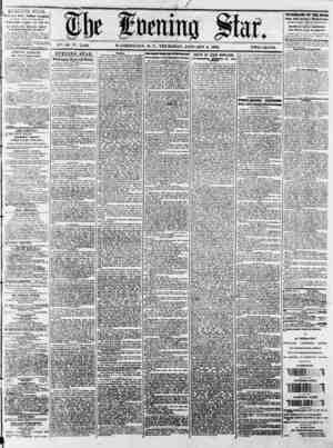 "Ai ????? f I)t foenitio "" . ? ""'?.?????? ? ? ? ? ? ? V'i. 41-NS. 5,180. WASHINGTON, D. C., THURSDAY, JANUARY 9. 1873. TWO..."