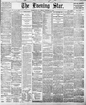 THE EVENING STAR. PUBLISHED DAILY, Except Sunday, AT THK STAR BULDINUS, 1101 PCTasjlTaa::1. At?., coraw lltli Street, ht Tie