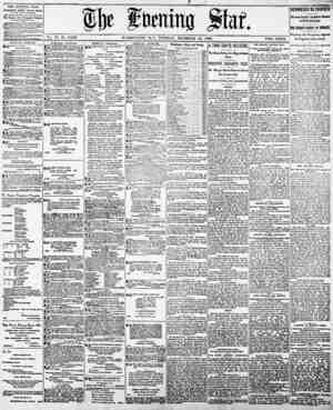 ?l)c ftirnino ?taf. Vol. 77, Ng 18,025. WASHINGTON, D. C., TUESDAY, DECEMBER 23, 1890. TWO CENTS. THE EVENING STAR PUBLISHED