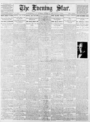 THE EVENING STAR. riBLISRF.U DAILY, EXCEPT StSDAt, at the stak buildings, 1101 Pennsylvania Ave., Cor. 11th St.. by Ibe...