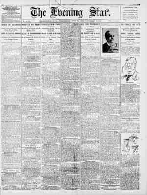 *tt No. 14,761. WASHINGTON, D. C., WEDNESDAY, JUNE 20, 1900-FOURTEEN Y1 CES3. TWO vr. THE EVENING STAR. PttIDD DAILV, EXCEPT