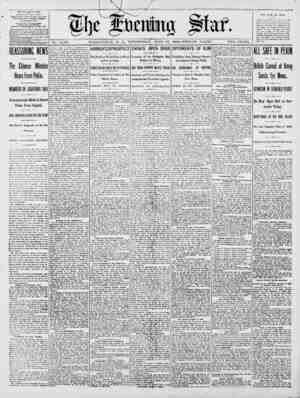 No. 14,767. WASHINGTON, D. C., WEDYESDAY, JUNE 27, 1900-TWELVE PAGES. TWO CENTS. iHE EVENINU STARt. Fl1 ISKED DAILY. FXCET