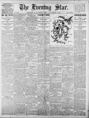 No. 15,648. WASHINGTON, D. 0, TUESDAY,- AM~L 21, 1903-TWENTY PAGES. TWO CENTS. THE EVENING STAR. POBEn AM DAILY, EXCEPT...