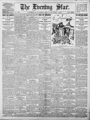NA No. 15,654. WASHINGTON, D. C., TUESDAY, A$$tIL 28, 1903-TWENTY PAGES. TWO CENTS. THE EVENING STAR. F9rMINm DAIL, xIPT...