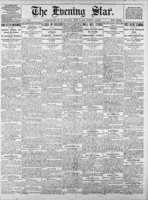 ltw--7 -F 777 Mir MP7 7 77 7 fat, No. 15,696. WASHINGTON, D. 0., TUESDAY9 JUNZ 16, 1903 ---- TWEN T Y PAGES. TWO 'CEM. THE