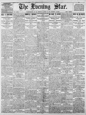 . _ THE EVENINQ gjAft ^ PUBLISHED 5iO;Y, SUNDAY. ftisiniM 018m, ljty 8{rMt isi PnuylTUi* iriiiu The Evening Star Newspaper