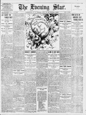 i \ / V . til] c cn iiuj pfaf. No. 17,110. WASHINGTON, D. C., TUESDAY, JULY 30, 1907-SIXTEEN PAGES. TWO CENTS. THE EVENING