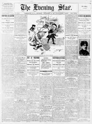 No. 17,170. WASHINGTON, D. C., SATURDAY, SEPTEMBER 28, 1907-TWENTY-EIGHT PAGES. TWO CENTS. THE EVENING STAR WITH SUNDAY...