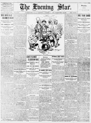 THE EVENING STAR WITH SUNDAY MORNING EDITION. BuiirestOfflc?. lltb Street and Pennsylf*n?* Avenue. The Evening Star Newspaper