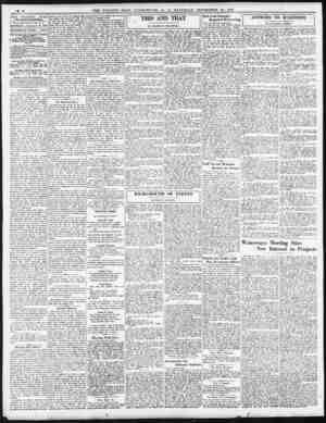 6 [THE EVENING STAR With Sunday Mom Inf Edition. ft WASHINGTON, D-a SATURDAY .i.. September 28, 1929 THEODORE W, NOYES. ..