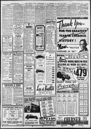 SALE—AUTOMOBILES. (Continued.) _ NASH 1929 sedan, completely retuned and cut to $87; pay $7 down. $ii month. Open Bights....