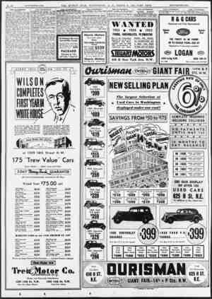 SALE—AUTOMOBILES. _(Continued.) _ FoNTIAC 1936 6-eyl. sedan; trunk; driven 3.664 miles; never registered; new guar entee:...