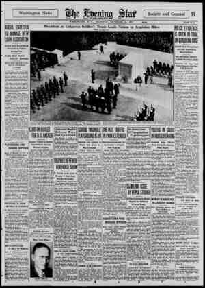 Washington News Society and General I B ...r* ___... _ WASHINGTON, D. C., THURSDAY, NOVEMBER 11, 1937. **** ~ PAGE B-l KREUTZ
