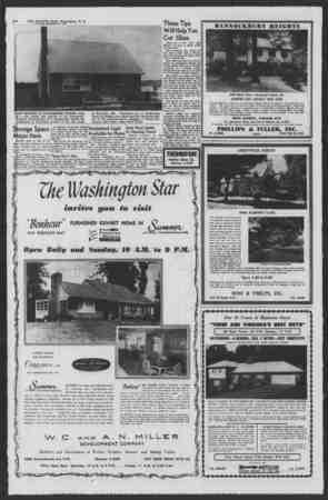 "B-8 THE EVENING STAR, Washington, D. C. SATURDAY. SEPTEMBER t»SA 4, ■>'*-,y *T, 'W.'-*/* ' % ... I B^';* ""' '% i*- *.. - ?!"