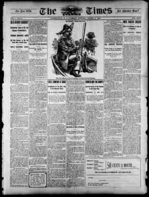 The Evening Times Gazetesi 6 Ağustos 1895 kapağı