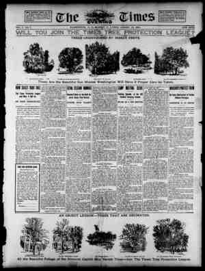 The Evening Times Gazetesi 12 Ağustos 1895 kapağı