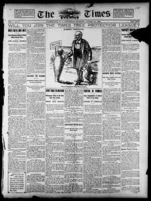 The Evening Times Gazetesi 14 Ağustos 1895 kapağı