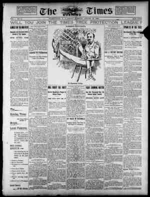 The Evening Times Gazetesi 16 Ağustos 1895 kapağı