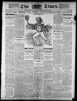 The Evening Times Gazetesi 19 Ağustos 1895 kapağı