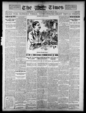The Evening Times Gazetesi 24 Ağustos 1895 kapağı