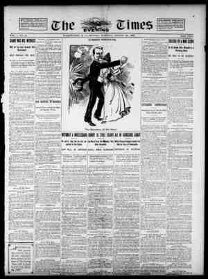 The Evening Times Gazetesi 26 Ağustos 1895 kapağı