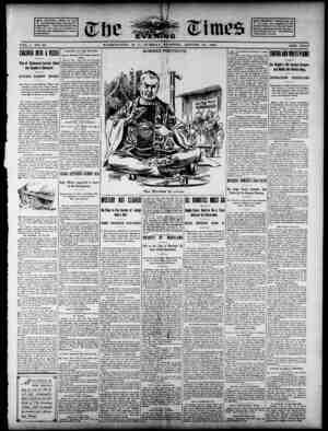 The Evening Times Gazetesi 27 Ağustos 1895 kapağı