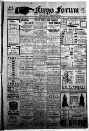 The Fargo forum and daily republican Gazetesi 13 Ekim 1903 kapağı