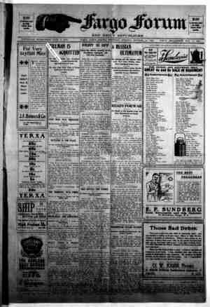 The Fargo forum and daily republican Gazetesi 15 Ekim 1903 kapağı