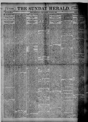 Grand Rapids Herald Gazetesi 10 Ocak 1892 kapağı