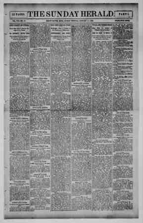 Grand Rapids Herald Gazetesi 17 Ocak 1892 kapağı