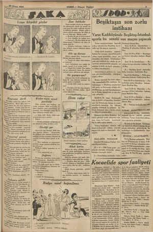 Nisan 1934 ' HABER — Ak: Zam hakkıdır Uzun müddet, büyük bir feragatla bir mücesesede, küçük bir maaşla ça- bşan genç bir