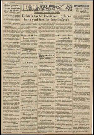 29 Eyilli 1934 Benisn gözüşüm: | Tarama dergisinde yüzde 90 tenzilât Büyük  Kurtarıcının dünkü tel yazılarından -...