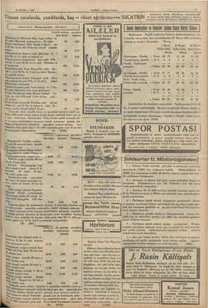 2 MAYIS — 1935 | Istanbul Belediyesi ilânları | men kirası (teminatı Edirnekapıda Mihrimah Mah. Cami avlusu 80. 20 odalı