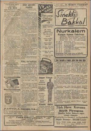 Londrada spor | ——. 80 EYLOL — 1935 sahaları - Ve biz Spor Postası bu hafta da böyle haykırıyor Türk eporunun en büyük derdi