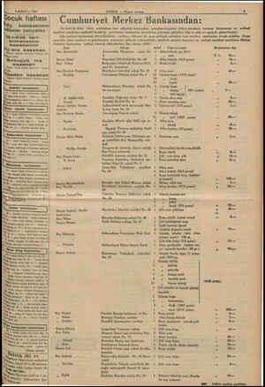 g 8 ŞUBAT — 1936 e ocuk haftası #liy kazananların larını yazıyoruz 19.1.935 taril. bilmecemizi kazananlar   Üç iira kazanan  