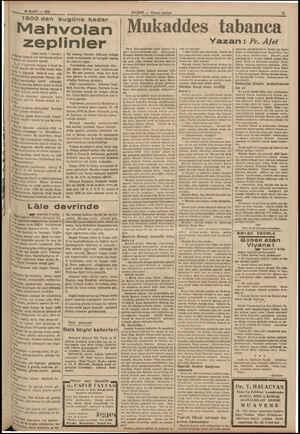 18 MART — 1034 1900 den bugüne kadar ' Mahvolan zepi (Baş tarafı 7 incide) ei tazmin için bir buçuk milyon Mâğkirk bir...