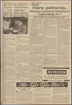 19 EYLÜL — 1938 Bir örücü neler anlatıyor ? Yaşasın velinimetimiz Güve Süvelerden âassa yaz yi kenlikler (1) Ühim birer...