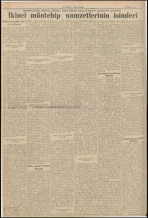 Eminönü, Fatih, K adıköy, HABER — Akşam Postası 15 MART — 1995 Üsküdar, Adalar Sarıyer, Eyüp ve Beykoz kazalarında gösterilen