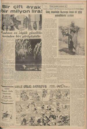 13 AĞUSTOS — 1939 HABER — Aksam Posta 7 Bir çift ayak   Firumu b K » i Yazan: L. Busch (36 Yılını va'ışiler arasınta...