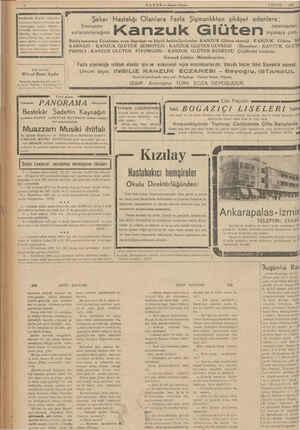 HABER — Axşam Postası 3 EYLUL — 1984 EMME Nİ ER LE Beyoğlunda BAKER mağaraları En birinci İngiliz ve Fransız ku- maşlarınğan