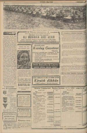 MA yy p ğ i Persembe 9-11 - 839 12,30 Program ve memleket sa - at ayarı, 12,35 Ajans ve meteorolo- Ji haberleri, 1 Türk