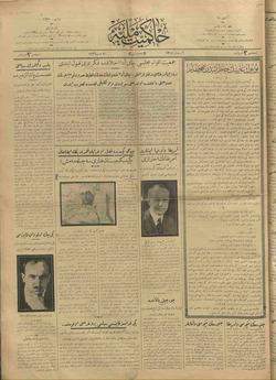 Hakimiyet-i Milliye Gazetesi 20 Mart 1926 kapağı