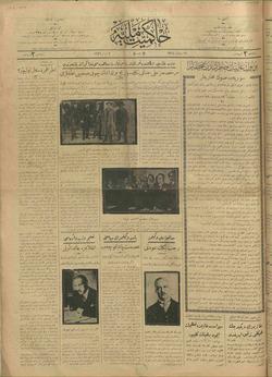 Hakimiyet-i Milliye Gazetesi 2 Nisan 1926 kapağı