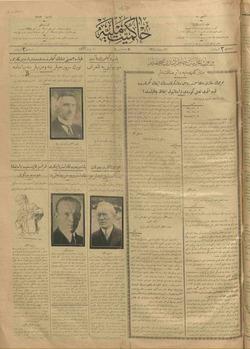 Hakimiyet-i Milliye Gazetesi 10 Nisan 1926 kapağı